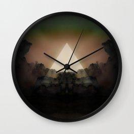 Abstract Environment 02: The Rorschach Test Wall Clock
