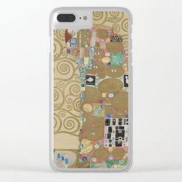 Gustav Klimt - The Embrace Clear iPhone Case
