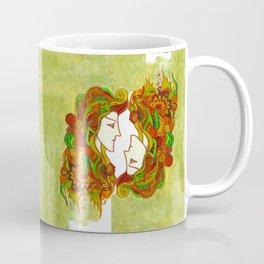 Golden Portrait Coffee Mug