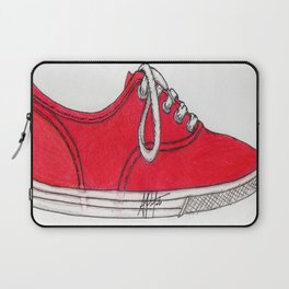 Red Shoe. Laptop Sleeve