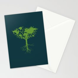 Earth Tree Stationery Cards