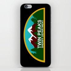 Twin Peaks: Twin Peaks Sheriff's Department iPhone & iPod Skin
