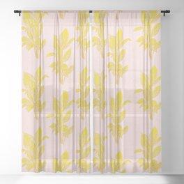 Palm Sheer Curtain