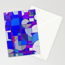 For a New Millenium - Red Stationery Cards