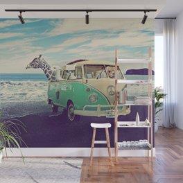 NEVER STOP EXPLORING THE BEACH Wall Mural