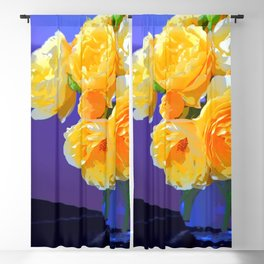 Flamboyant Rose Blackout Curtain