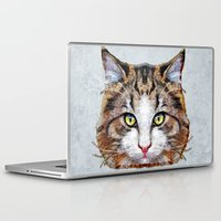 meow Laptop & iPad Skins featuring MEOW by Ancello