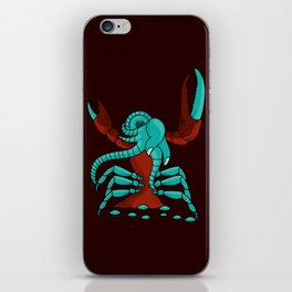 Crabonster iPhone Skin