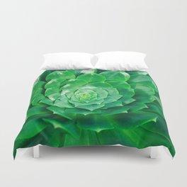 Botanical Gardens - Succulent #686 Duvet Cover