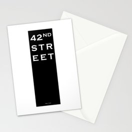 42nd Street - New York Stationery Cards