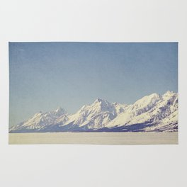Grand Tetons Streching Out Rug