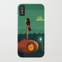 submarine iPhone & iPod Cases featuring Submarine by Ilias Sounas
