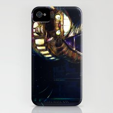 Cat Bus is In Your Town! Miyazaki Tribute Digital Fan Painting iPhone (4, 4s) Slim Case
