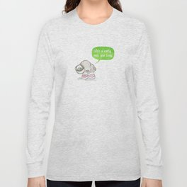 Marcel the Shell Long Sleeve T-shirt