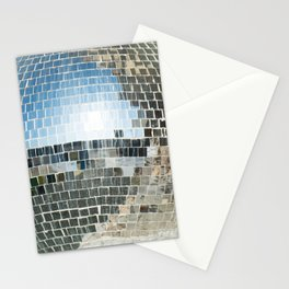 Mirrors discoball Stationery Cards