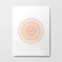 Round poster 36 Metal Print