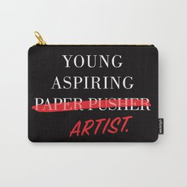 Young Aspiring Artist Carry-All Pouch
