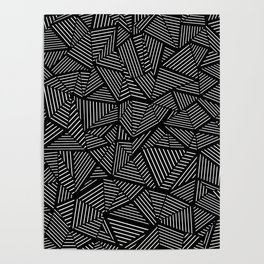 Abstraction Linear Poster