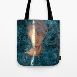 Surrounded by Flowers Tote Bag