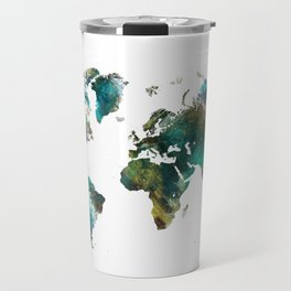 Map of the World tree #map #world Travel Mug