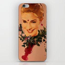 Floral wedding iPhone Skin