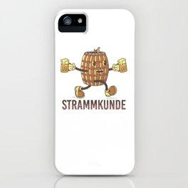 beer keg tasting iPhone Case