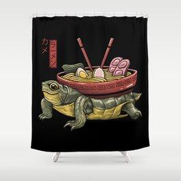 Kame Ramen Shower Curtain