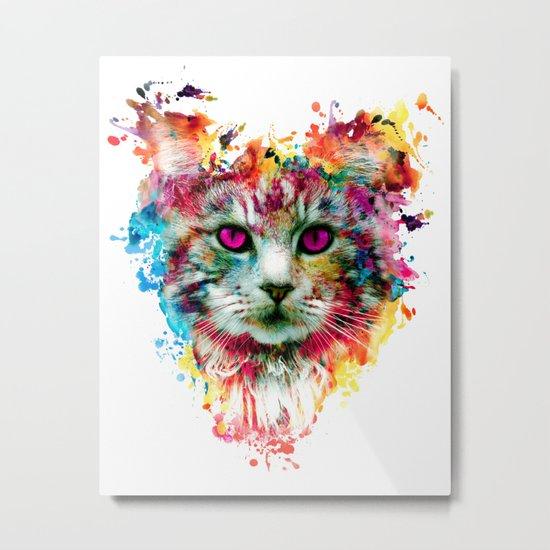 Cat II Metal Print