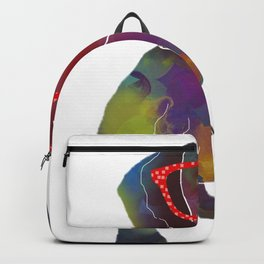 hipster dachshund Backpack