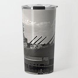 USS Wisconsin (BB-64) Travel Mug