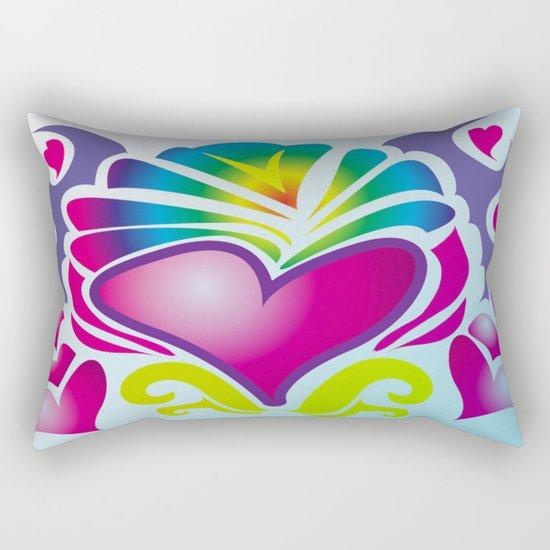 heart of soul Rectangular Pillow