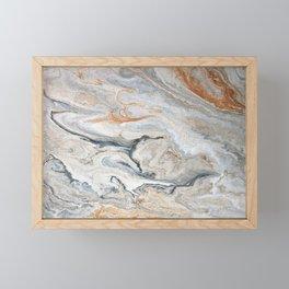 Faux Marble Framed Mini Art Print