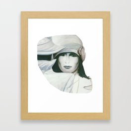 Look At These Eyes Framed Art Print