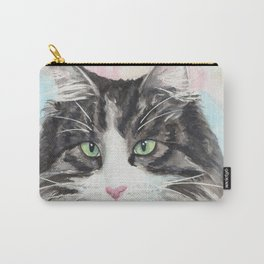 Watercolor Cat 13 My Master Carry-All Pouch