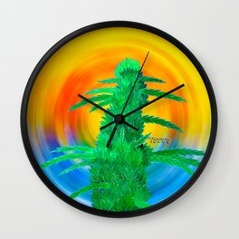 Beach Bud Wall Clock