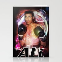 ali gulec Stationery Cards featuring Ali #2 by YBYG