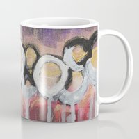 moulin rouge Mugs featuring Rouge by Angelina Yvette