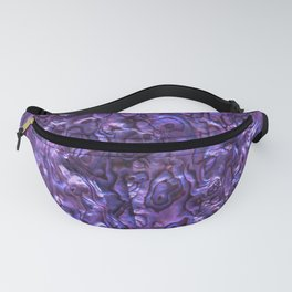Abalone Shell | Paua Shell | Sea Shells | Patterns in Nature | Violet Tint | Fanny Pack