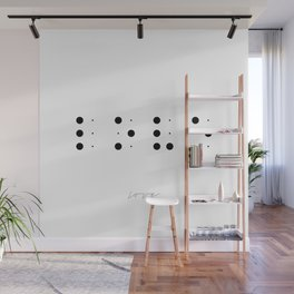 Love in Braille Wall Mural