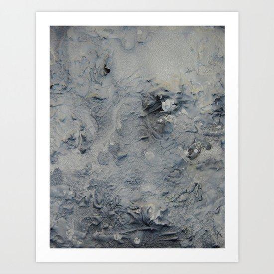 Moon-like  Art Print