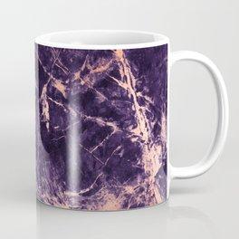 Purple rose abstract marble Coffee Mug