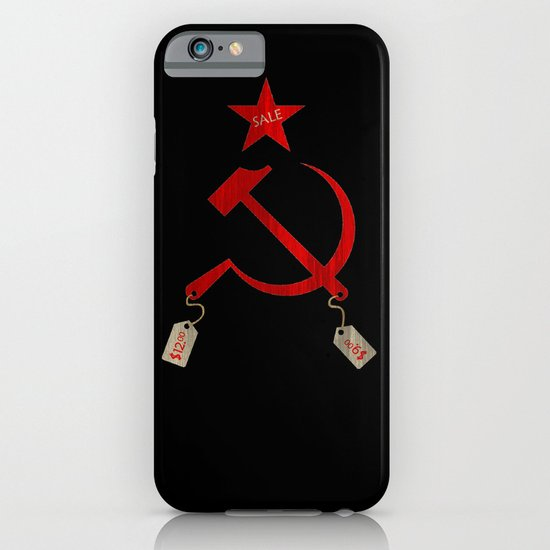 Communism vs. Capitalism iPhone & iPod Case