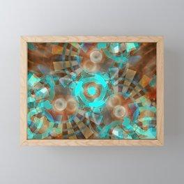 Abstractdelic series Framed Mini Art Print