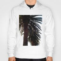 palm trees Hoodies featuring Palm Trees by Moonshine Paradise