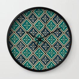 North Star Blue Wall Clock