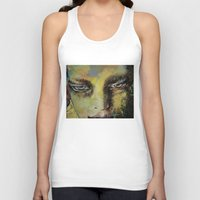 shiva Tank Tops featuring Shiva by Michael Creese