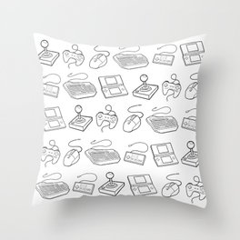 Get Your Game On Throw Pillow