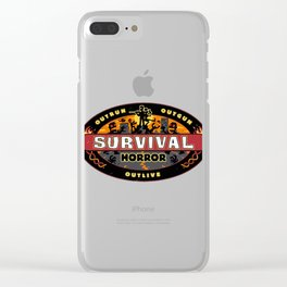 Humanity Gets Voted Off Clear iPhone Case
