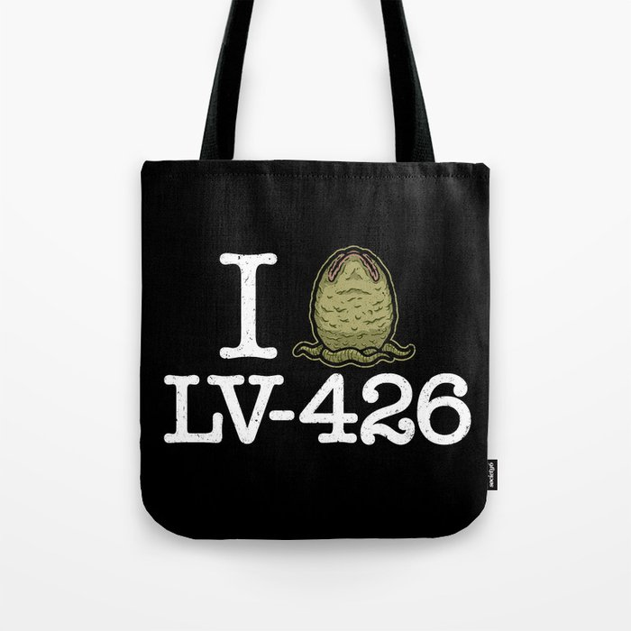 I Love LV-426 Tote Bag