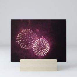 Fireworks, Double Mini Art Print